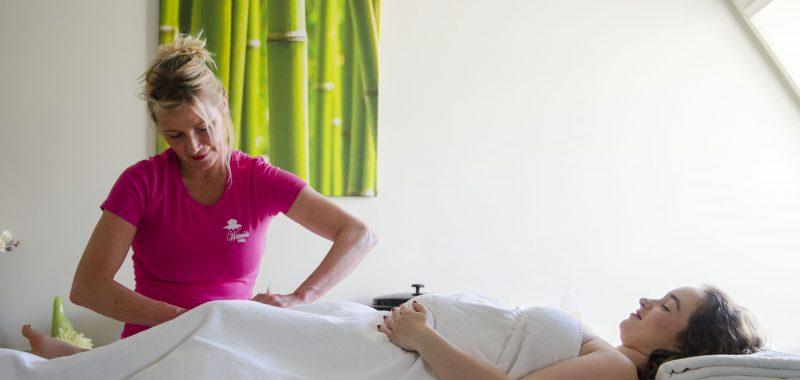 Mimosa massage en zwanger