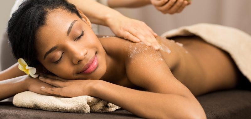 Ella Baché Body scrub treatment